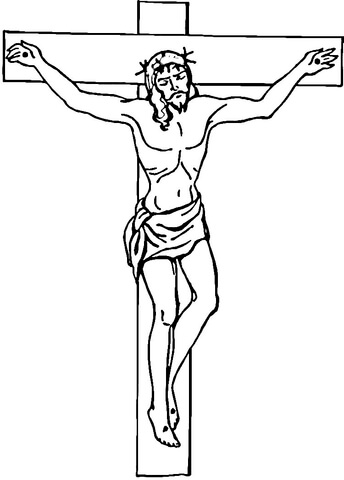 jesus-on-the-cross-coloring-page